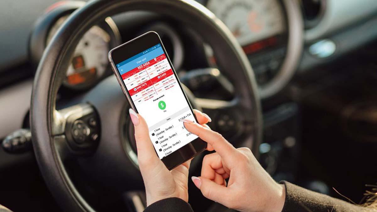 Aplicatie mobila si plata prin SMS pentru locurile de parcare din Iaşi