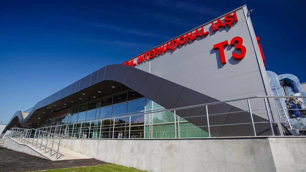 Autoritatile iesene anunta deschiderea unui nou centru de vaccinare la Aeroportul International Iasi