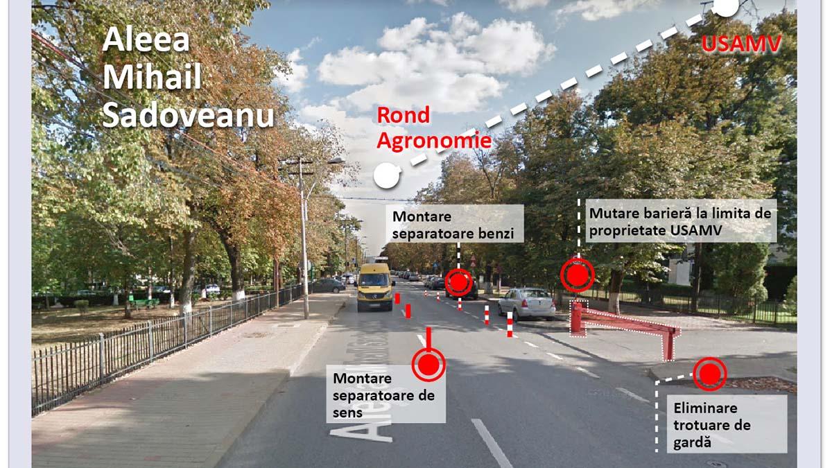 Traficul din zona Agronomie, în atenția Comisiei de Circulație