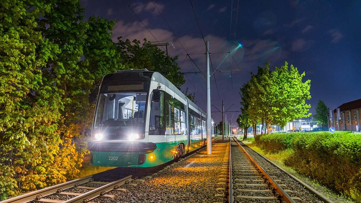 (FOTO)Teste cu PRIMUL tramvai Pesa destinat municipiului Iasi
