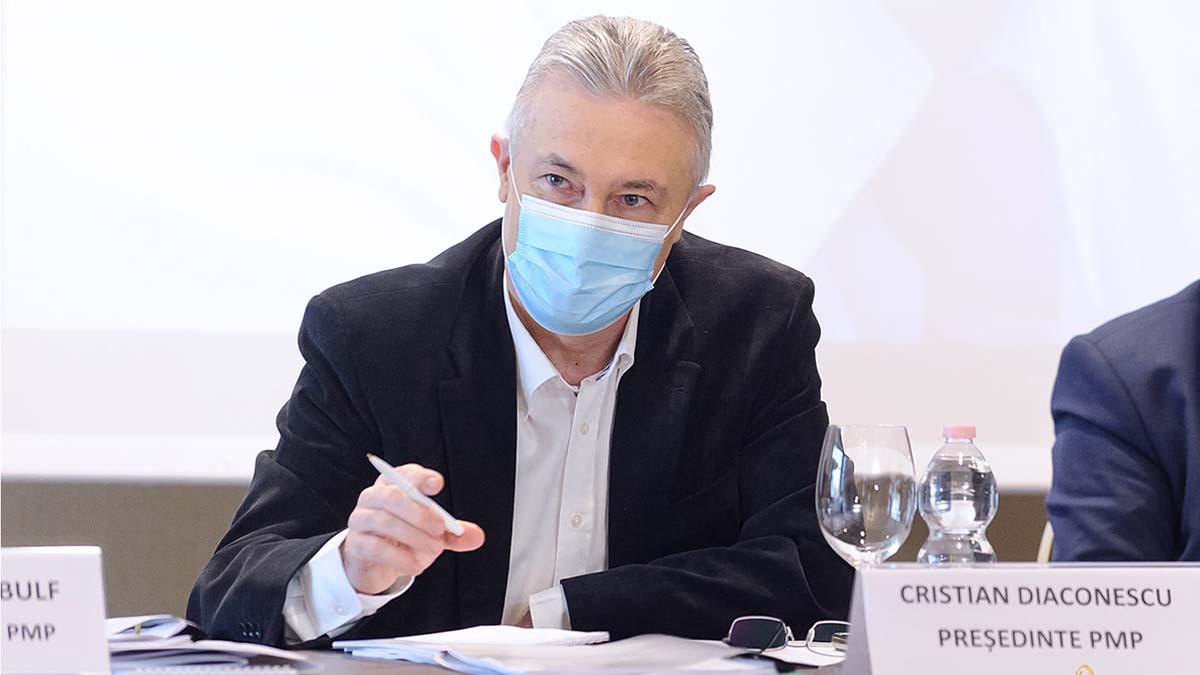 Cristian Diaconescu (PMP) a criticat la Iasi dezinteresul autorităţilor faţă de proiectele de infrastructură