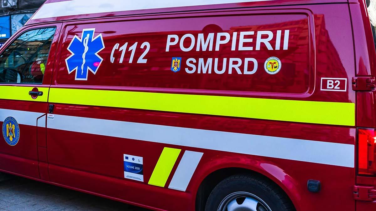 Doi copii intoxicați cu monoxid de carbon, au fost salvați de pompierii din Iași