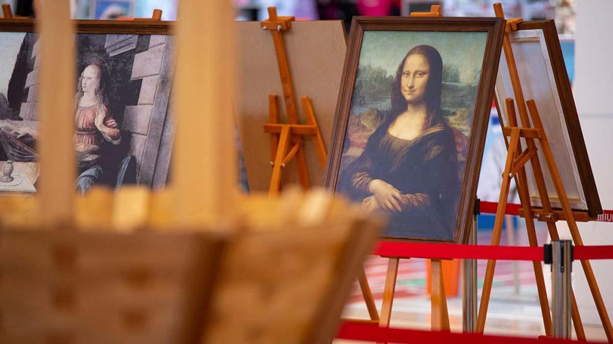 Descoperă invențiile și picturile lui Leonardo da Vinci, la Palas!