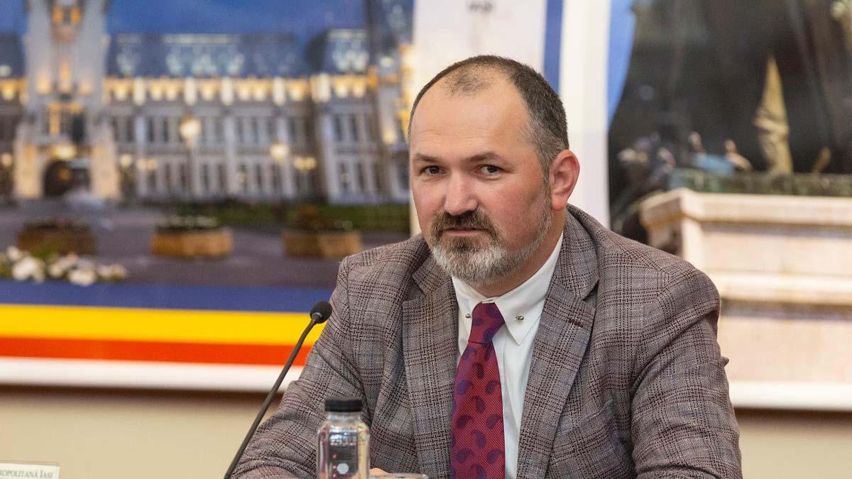 Marius Dangă este noul presedinte al filialei municipale a PNL Iasi