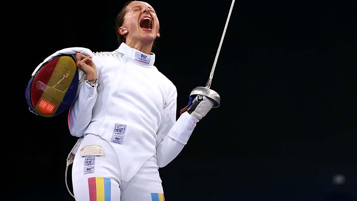 Ana-Maria Popescu s-a calificat în sferturile probei de spadă la Tokyo