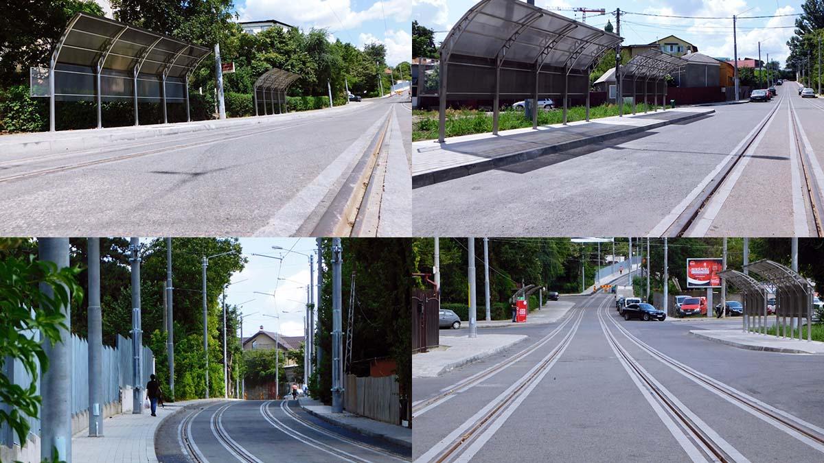 (FOTO) Se va relua circulația tramvaielor pe tronsonul Cinci Drumuri – strada Pădurii – strada Nicoriță