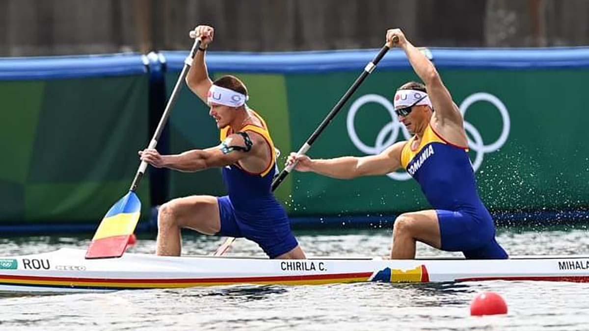 Canoiştii români Cătălin Chirilă şi Victor Mihalachi s-au calificat, marţi, în finala probei de Canoe dublu pe 1.000 m, în cadrul Jocurilor Olimpice de la Tokyo
