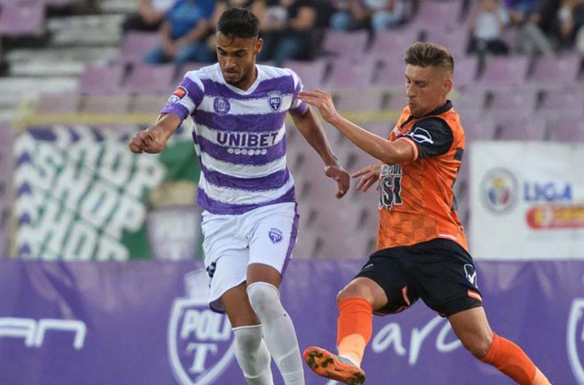 Politehnica Iaşi a învins în prelungiri Politehnica Timişoara în etapa a 5-a din Liga a 2-a