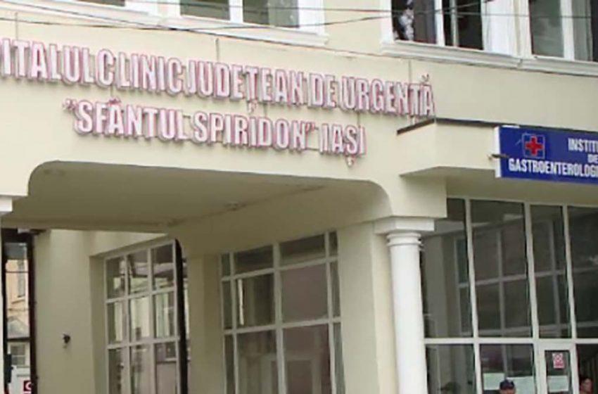 """Situatie disperata la Spitalul """"Sf.Spiridon""""! Nici un pat liber pentru pacientii pozitivi"""