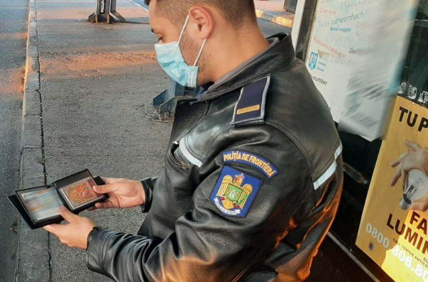 Carte de identitate falsă descoperită de poliţiştii de frontieră de la PTF Albiţa