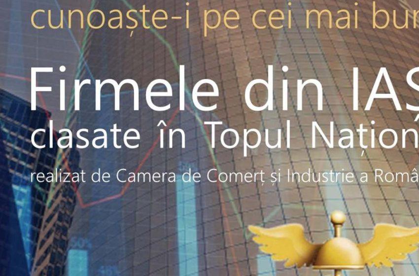350 de firme din Iași sunt prezente în Topul Național realizat de Camera de Comerț și Industrie