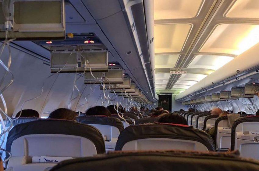 Un avion BlueAir s-a depresurizat inainte aterizarii pe aeroportul Bucuresti