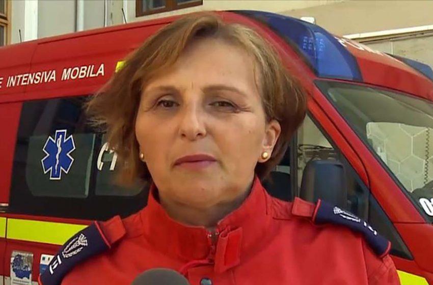 """Diana Cimpoeşu, coordonator UPU Iaşi: """"Căutăm și așteptăm locuri în spitale. Este o medicină de dezastru!"""""""