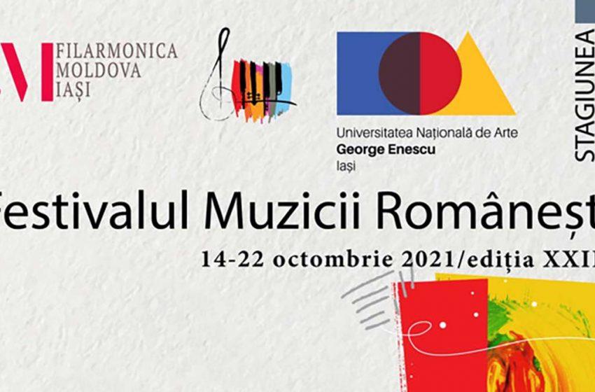 Ediția XXIII a Festivalul Muzicii Românești va avea loc la Iași în perioada 14-22 octombrie 2021