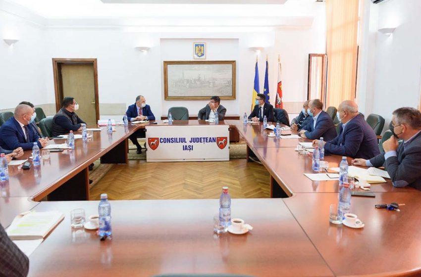 O nouă întâlnire a membrilor Asociației Metropolitane de Transport Public Iași