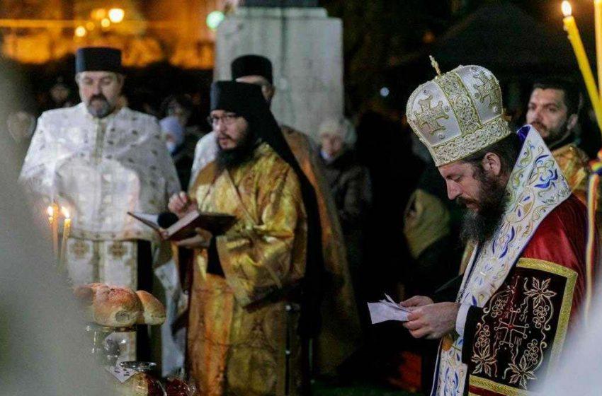 PS Damaschin Dorneanul a oficiat Slujba Privegherii în cinstea Sfintei Parascheva