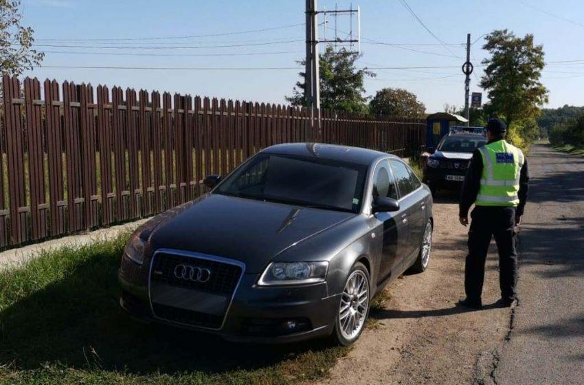 Şofer băut la volan surprins in trafic de poliţiştii de frontieră