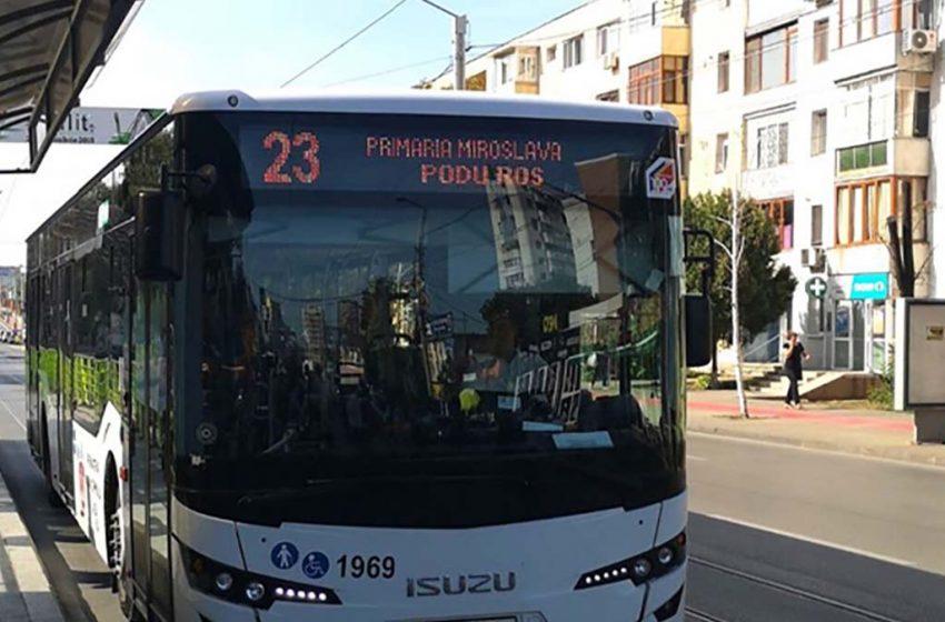 Noi trasee de transport public in zona metropolitana Iasi